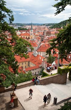View from the Lobkowicz Palace, Prague, Czech Republic, 2012, photograph by Lucy Dodsworth.