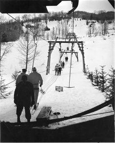 T bar, looks dangerous Alpine Skiing, Vintage Ski, Winter Snow, Utah, The Past, Mountains, Retro, Places, Modern