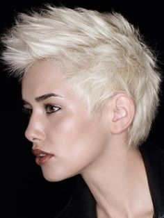 chic and edgy hair