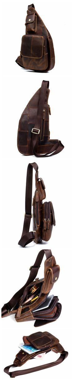 Handmade Vintage Leather Clutch, Men's Clutch, Travel Wallet