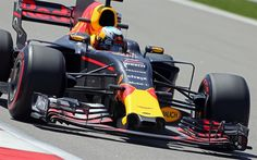 Download imagens F1, Daniel Ricciardo, 4k, A Red Bull Racing, RB13, 2017 carros, Fórmula 1, pista de rolamento, Fórmula Um