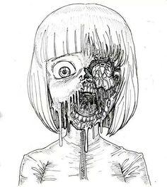 Resultado de imagen para anime skull anatomy