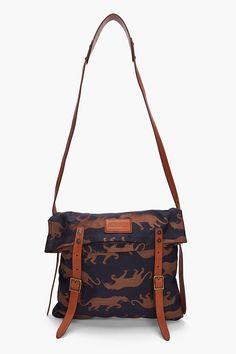 Panther Messenger Bag