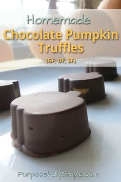 Try these chocolate pumpkin truffles in place of yucky GMO conventional candy. They're healthy, made from real food and, most importantly, delicious!