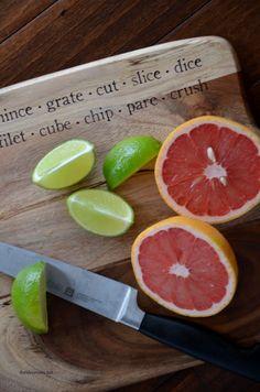 DIY Typography Cutting Board Tutorial|theidearoom.net
