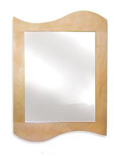 Room Magic Wall Mirror, Natural Wave