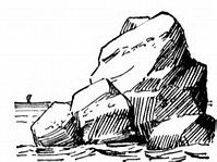 Realistic Drawing Patterns pile of rocks clipart - Bing Images Ink Pen Drawings, Realistic Drawings, Drawing Rocks, Painting & Drawing, Pen Sketch, Art Sketches, City Sketch, Rock Clipart, Rock Tattoo