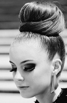 Nice Buns: Wear smooth sock bun to your next black-tie event