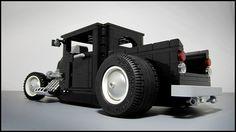 Lego Custom Hot Rod Pickup Truck... Cool !