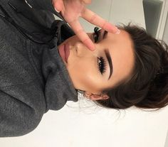 Best Eyebrow Makeup Tips and Answer of the How to get Perfect Eyebrows Pretty Makeup, Love Makeup, Makeup Inspo, Makeup Inspiration, Makeup Ideas, Makeup Tutorials, Makeup Tips, Beauty Make Up, Hair Beauty