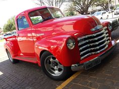 The Spin Brothers: Pick Up Chevrolet 3100 1951