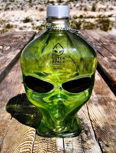 Outer Space Vodka | E.T. Extraterrestrial Liquor Bottle