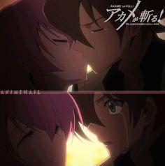 Mine kiss to Tatsumi