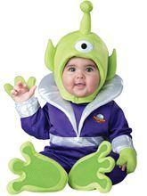 Infant Mini Martian Alien Costume by Incharacter Costumes LLC Infant Unisex, Size: Toddler 18 Months - Multicolor Alien Halloween Costume, Toy Story Halloween, Halloween News, Toddler Halloween Costumes, Halloween Fancy Dress, Baby Costumes, Alien Costumes, Halloween Inspo, Group Halloween