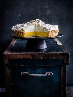 A classic, impressive lemon meringue pie with crisp pastry, tart curd and fluffy meringue that's easy to make. What more could you want?