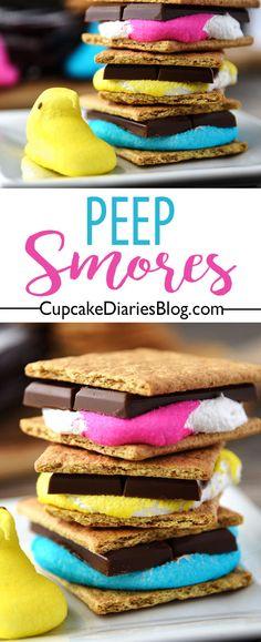 Peep S'mores