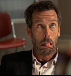 Calling Dr. House -- Hugh Laurie looks sick!