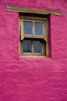 pink wall....