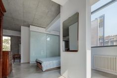 Modern Loft #mimimal-style with #Microtopping solution