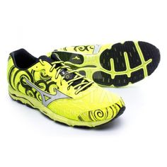 Mizuno Wave Hitogami 2 Neon Yellow-Silver-Black (Men's)