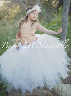 Check out Rose Gold Lace Flower Girl Dress Tulle Wedding Flower Girl Tulle Dress All Sizes Baby to Girls 10 on Baby Tutu Dresses, Flower Dresses, Tulle Dress, Girls Dresses, Dress Lace, Tulle Tutu, Gold Lace Dresses, Gold Dress, Lace Flower Girls