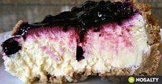 New York cheesecake Krispie Treats, Rice Krispies, Cheesecake, Food Porn, Paleo, Food And Drink, New York, Sweets, Snacks