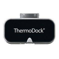 Chollo Amazon: Termómetro por infrarrojos para dispositivos Apple Medisana ThermoDock, solo 13,80€ (rebaja 64% del precio anterior, precio mínimo histórico)