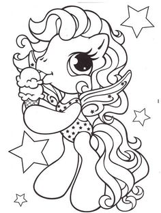 little pony eat ice cream coloring pages my little pony car