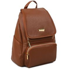 Amazon.com | Copi Women's Modern Design Deluxe Fashion Backpacks One Size Camel | Casual Daypacks $37