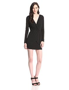 BCBGeneration Women's Pleat Crossover Dress, Black, Medium BCBGeneration http://www.amazon.com/dp/B00PWP5CJM/ref=cm_sw_r_pi_dp_q3BRvb19JRX4G