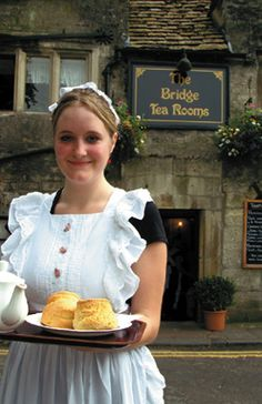 The Bridge Tea Room,Bradford on Avon,Wiltshire UK, (circa 1675)