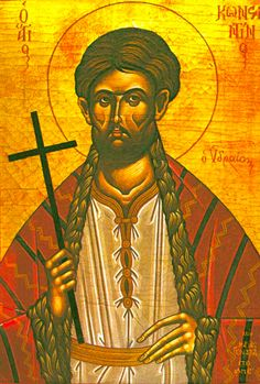 New Martyr Constantine of Hydra (the island he was born) accepted the Muslim faith in Constantinople due to tradition. However, he soon deeply repented and left for Mount Athos, where, by strict monastic efforts, he tried to repent. Dissatisfied with his progress, he reappeared in Constantinople where he openly confessed his faith. For this he was beheaded (1800). He is celebrated Nov 14.