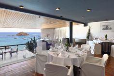 "New exclusive and romantic Restaurant ""a la carte"" in Premier Gran Hotel Reymar at Tossa de Mar"