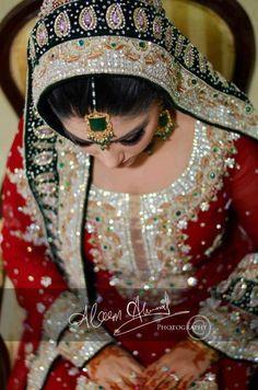 pakistani bridal  #MuslimWedding, #PerfectMuslimWedding, #IslamicWedding, www.PerfectMuslimWedding.com