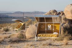 Camping pods by Andrea Zittel