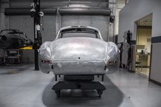 Down to bare metal.  #w198 #300sl #restoration #metalwork #mbclassic #gullwing #mbclassic #instacar #mbcar #mbenz #classicbenz #cargram #instagood #carlove #supercar #craftsmanship #quality #irvine #california