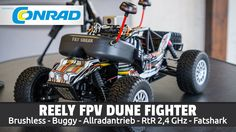 """REELY FPV Dune Fighter - 1/10 Brushless Buggy """"Unboxing"""" [HD/Deutsch]"""