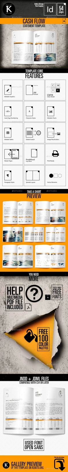 Financial Statement Template Accounting Templates Pinterest - financial report template