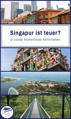 Singapur lebt von kultureller Vielfalt und von den starken Kontrasten auf engem Raum. Und genau das macht die Stadt auch für uns Backpacker so attraktiv! #Singapur #Malaysia #Reisetipps #Südostasien #Reise #Rucksackreise #Backpacking #Reiseziel #günstig #Stadt