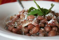 Warm Up Your Season with Beans: Frijoles Rancheros, Mexican Ranch Style Beans - My Humble Kitchen Ranch Style Beans Recipe, Mexican Beans Recipe, Mexican Food Recipes, Food Dishes, Side Dishes, Cooking Dried Beans, Frijoles, Bean Recipes, Cooking Recipes