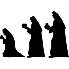 Three Wisemen from the Wise Men Still Seek Him Collection by Echo Park Paper Co. Christmas Tree Template, Christmas Stencils, Christmas Vinyl, Christmas Nativity Scene, Christmas Angels, Christmas Projects, Christmas Design, Nativity Silhouette, Christmas Program
