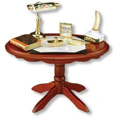 Letters Hom Table Display | Mary's Dollhouse Miniatures