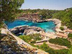 Cala S'Almunia / Calo des Moro Mallorca. Traumstrand, Naturstrand, Bucht