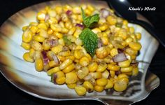 Simple Corn Chaat