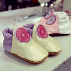 Design-Your-Own Shoe of the Week: Baby Buttercup Moccasins in Pearl and Lavender! Handmade in Oregon. Design Your Own Shoes, Barefoot Running Shoes, Baby Moccasins, Buttercup, Walking Shoes, Custom Shoes, Leather Shoes, Oregon, Infant
