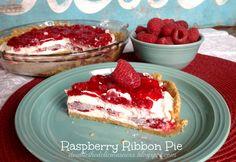 Raspberry Ribbon Pie & A Thanksgiving Tradition (she: Jana)
