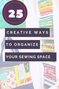 25 organizing ideas for sewing room - The Little Mushroom Cap: A Quilting Blog Organisation Hacks, Sewing Room Organization, Organizing Ideas, Organising Tips, Quilting Room, Quilting Projects, Bobbin Storage, Quilt Ladder, Scrapbook Box