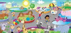 Zoo Mat (Hasbro)