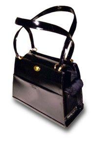 Tami, Black Patent Dog Carrier Item #: PUC-TAM-BPA $219.95 Glamour Dog