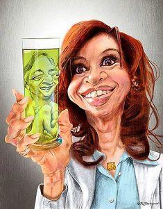Christina Fernandez y Nestor Kirchner